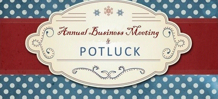 Annual Business Meeting & Valentine's Potluck