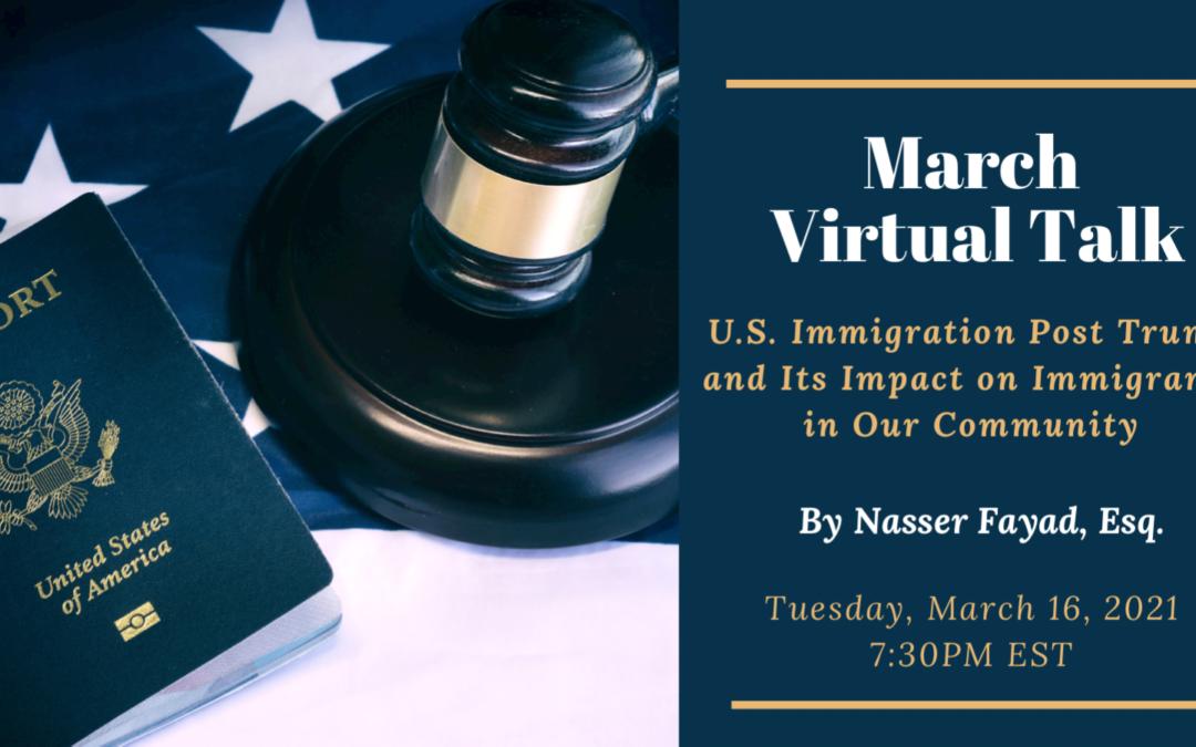 March Virtual Talk